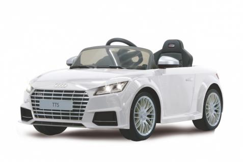 Jamara Kinderauto Elektroauto Elektro Ride on Car Audi TTS Roadstar Auto weiß