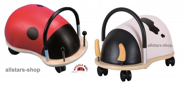 Wheely Bug Rutscher Kuh und Marienkäfer groß Kleinkindrutscher mit 360 Grad Wendekreis Allstars
