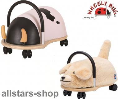 Wheely Bug Rutscher Hund Bello und Kuh Maggie Kleinkindrutscher klein 360 Grad rundum allstars