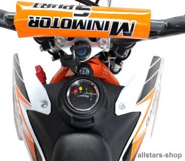 Actionbikes Kindermotorrad Kinder-Crossbike Poketbike Gazelle E-Motorrad orange - Vorschau 4