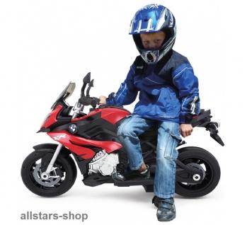 Jamara Kinder-Motorrad Ride On BMW S1000XR Motorbike mit E-Motor rot