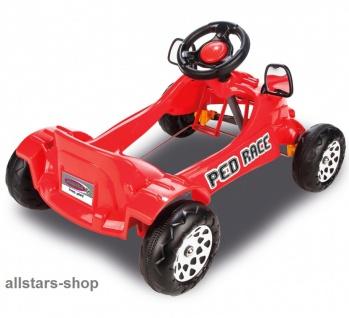 Jamara Kinder-Pedalauto Tretauto Rutscher Pedal Car Gokart - Vorschau 2