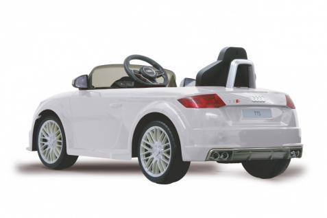 Jamara Kinderauto Elektroauto Elektro Ride on Car Audi TTS Roadstar Auto weiß - Vorschau 2
