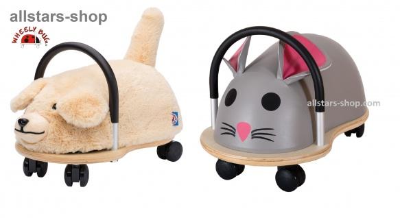 Wheely Bug Rutscher Hund und Maus Kleinkindrutscher klein 360 Grad rundum allstars