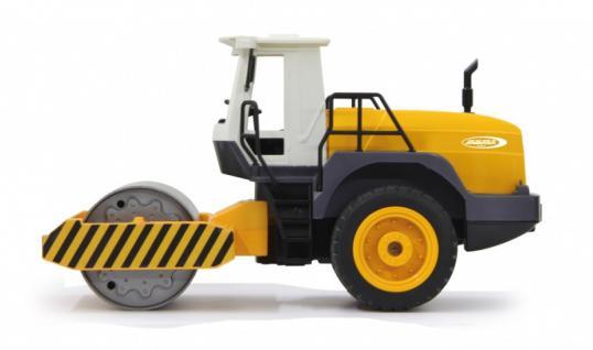 Jamara RC Auto Straßenwalze 1:20 Rüttelfunktion 2, 4GHz Baufahrzeug Funk - Vorschau 4