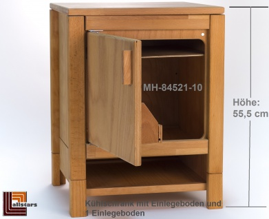 Allstars Kinderküche 1 Kühlschrank H = 55, 5 cm Spielküche aus Buchenholz