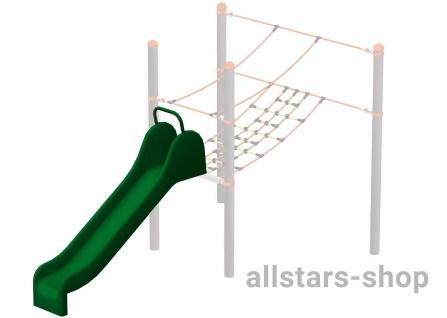HUCK Vario-Element 10 Rutsche für Robinie-Pfosten öffentlicher Spielplatz Kleinkindrutsche