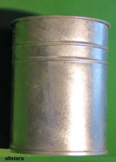 Beckmann Abfallbehälter 50 l Mülleimer Typ 5 Deckel Papierkorb verzinkter Stahl