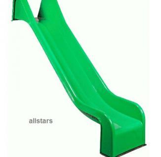 Beckmann PE-Rutsche 3, 31 m einteilig grün Podesthöhe 2 m Rutsche