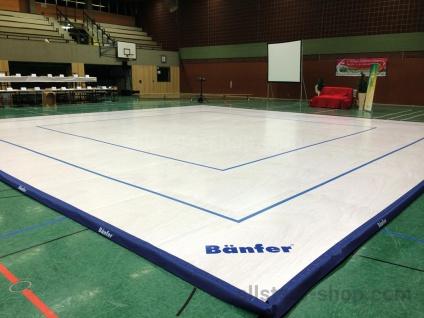 Bänfer Aerobicboden Wettkampfboden 12 x 12 m
