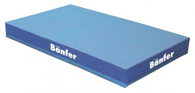 Turnen Hochsprunganlage Standard 5 x 4 m intergrierte Schleißmatte Sport Bänfer