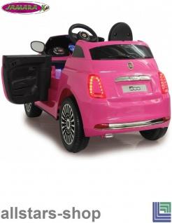 Jamara Kinderauto Elektroauto Ride On Car Fiat 500 Selbstfahr-Kinderauto - Vorschau 2