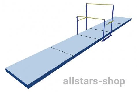 Bänfer Nadelfilz Teppichauflage für Stufenbarren-Mattensatz Teppich HIB 28 m² Matten