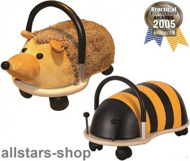 Wheely Bug Rutscher Biene Maja und Igel Kleinkindrutscher klein mit 360 Grad Wendekreis allstars