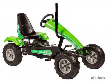 Allstars DinoCars Dino Cars Track BF1 grün GoKart KettenKart KettenCar Kettcar