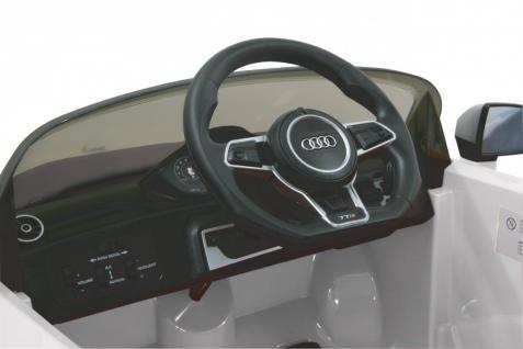 Jamara Kinderauto Elektroauto Elektro Ride on Car Audi TTS Roadstar Auto weiß - Vorschau 4