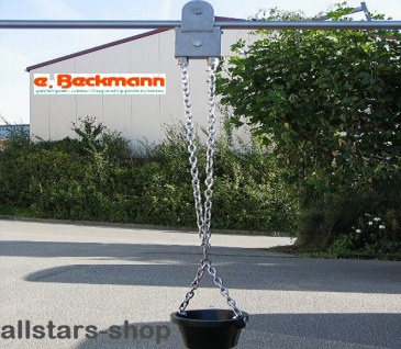 Beckmann Sandaufzug mit 3, 0 m Schiene V2A Laufkatze für Spielplätze Spielplatz-Aufzug