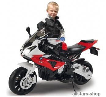 Jamara Kinder-Motorrad Ride On BMW S1000RR Motorbike mit E-Motor rot