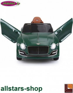 Jamara Kinderauto Elektroauto Ride On Car Bentley EXP12 dunkelgrün Cabriolet Kids - Vorschau 5