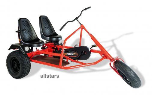 DinoCars Dino Cars Trike Seitenwagen ZF Kinderfahrzeug Tretauto Kinderauto GoCart