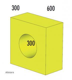 Bänfer Softbaustein Röhre 1-tlg. Gelb 30 x 60 x 60 Maxi Schaumstoff-Baustein - Vorschau 1