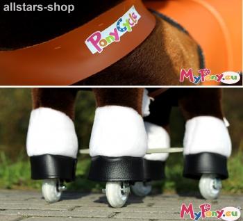 """Actionbikes Ponycycle """"Mister Ed"""" Pony Mini Schaukelpferd auf Rollen Dreirad - Vorschau 3"""