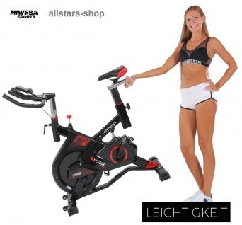 Actionbikes Ergometer MS300 Sport Fitnessbike Fitness-Fahrrad Trainingsgerät Miweba