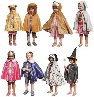Kostüme-Set Kinder-Kostüm 10 Tierkostüme plus König Königin Engel Allstars - Vorschau 4