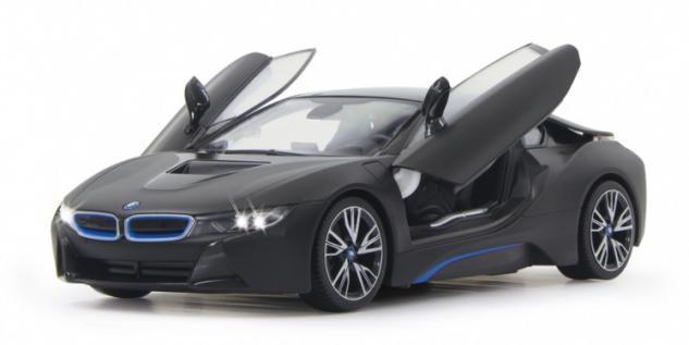 Jamara BMW I8 1:14 schwarz Modellauto Funk ferngesteuert RC Auto Flügeltüren