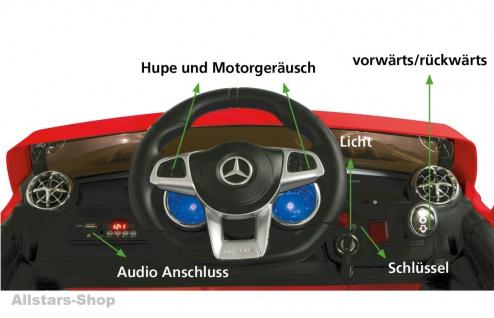 Jamara Kinder-Auto Mercedes SL 65 AMG Ride On Car mit Elektromotor Farbwahl - Vorschau 3