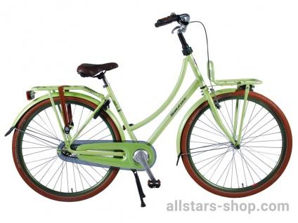 Allstars Dino Wheels Bikes Damenfahrrad 28 Zoll, 3-Gänge Excellent limone