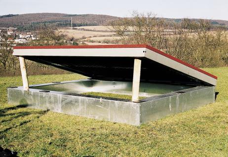 Hally-Gally Spogg Eingrabrahmen für Original Trampolin 2000 Einbautrampolin