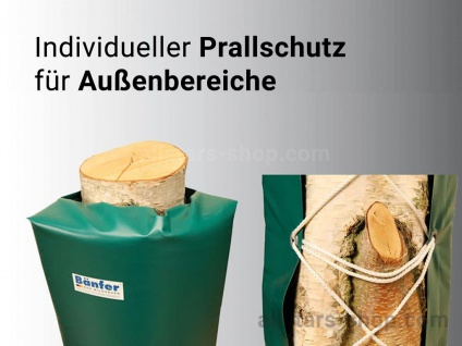 Bänfer Schutzpolster Prallschutz Außenbereich PU-Schaum Prallschutzmatte 2 m
