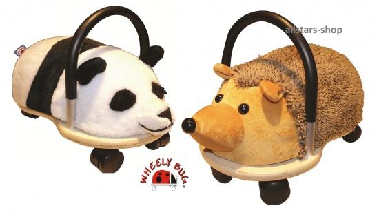 Wheely Bug Rutscher Igel und Panda Kleinkindrutscher klein 360 Grad rundum allstars