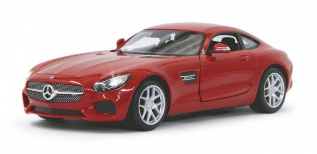 Jamara RC Auto Mercedes AMG GT 1:14 rot Tür fernbedienbar 27 MHz Funk