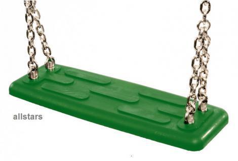Beckmann Schaukelsitz Typ 1A Gummi grün Schaukel Sicherheitsschaukelsitz