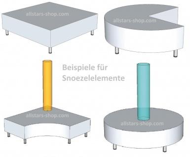 Bänfer Snoezel Element Ballbad + Lichtschlauch weiß Therapieraum Kombi-Kern - Vorschau 3