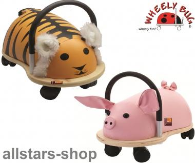 Wheely Bug Rutscher Ferkel Piggi und Tiger Shir Khan Kleinkindrutscher klein 360 Grad rundum allstars