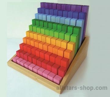 Allstars Juniortreppe 100 Teile Holzbausteine