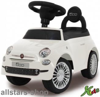 Jamara Fiat 500 Kinder-Auto Rutscher Lauflernwagen Rutschauto weiß für Kindergarten