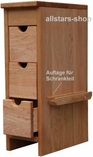 Schöllner Beistellschrank für Kinder-Küchenmöbel, für Kinderküche Spielküche Star Maxi aus Holz für Kindergarten - Vorschau 2