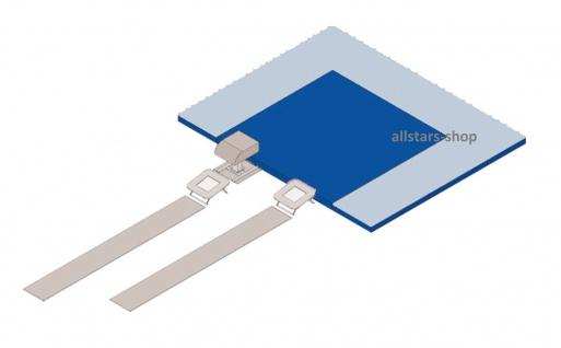 Bänfer Mattensatz für Trampette-Gerätestation 12-tlg. blau/gelb 6000 x 6000 x 300 mm