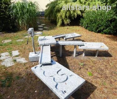 Granitrinne 2 Stück für Matschanlage Wasserspiele Wasserspielanlage Wasseranlage