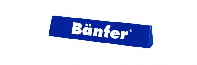 Bänfer Werbereiter Werbebanner 2000 x 400 x 400 mm Schaumkern RG 18 Umrandung