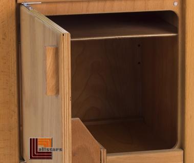 Allstars Kinderküche Spielküche 1 Herd mit Backofen plus Kühlschrank H = 45, 5 cm Buchenholz - Vorschau 3