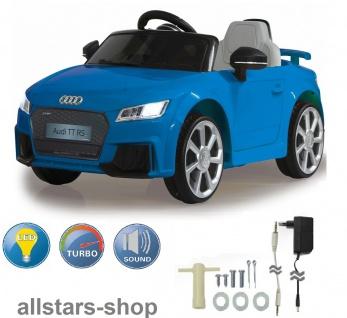 Jamara Kinder-Auto Elektroauto Audi TT RS Roadster Ride On Car mit E-Motor - Vorschau 2