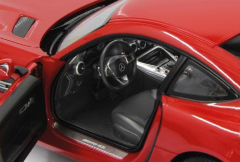 Jamara RC Auto Mercedes AMG GT 1:14 rot Tür fernbedienbar 27 MHz Funk - Vorschau 4