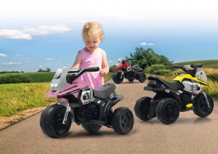 Jamara Kinderauto Elektro-Trike Elektroauto Ride-on E-Trike Racer rot - Vorschau 4