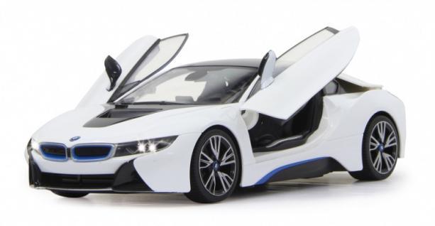 Jamara BMW I8 1:14 weiß Modellauto Funk ferngesteuert RC Auto Flügeltüren