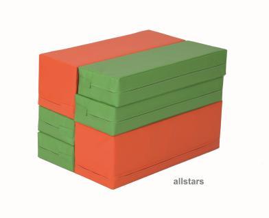 Bänfer Bausteinsatz 6-tlg. Softbausteine MINI Bausteine Großbausteine Schaumstoff - Vorschau 4